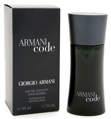 GIORGIO ARMANI CODE (M) EDT 125ml