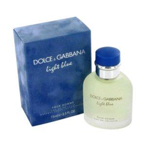 DOLCE & GABBANA LIGHT BLUE (M) EDT 125ml