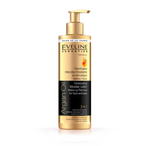 argan oil make up remover eveline