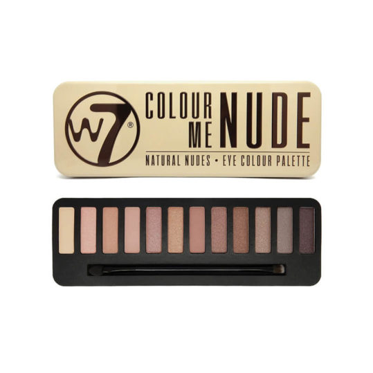 W7 Color Me Nude Eyeshadow Palette