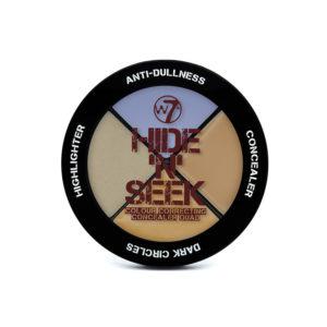 W7 Hide 'N' Seek - Anti-Dullness Concealer Quad