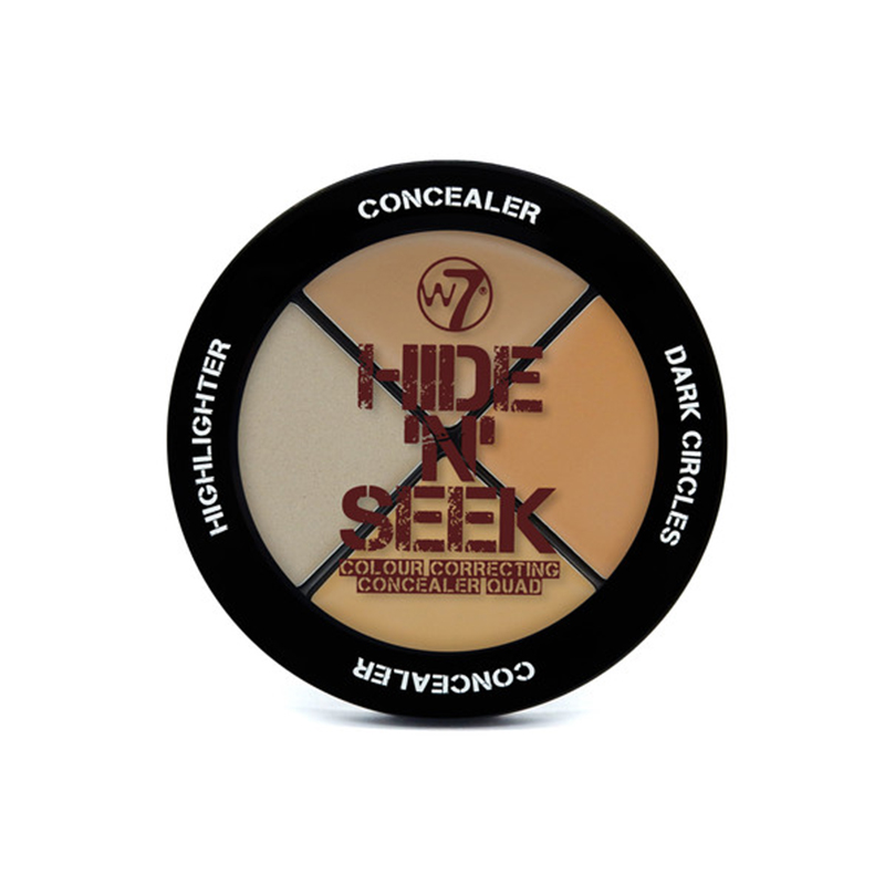 W7 Hide 'N' Seek - Concealer Quad