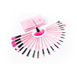 London Pride Brush Set Pink 24pcs