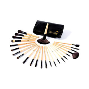 London Pride Brush Set Black 24pcs