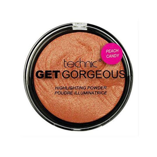 Technic Get Gorgeous Peach Candy Highlighting Powder 12gr