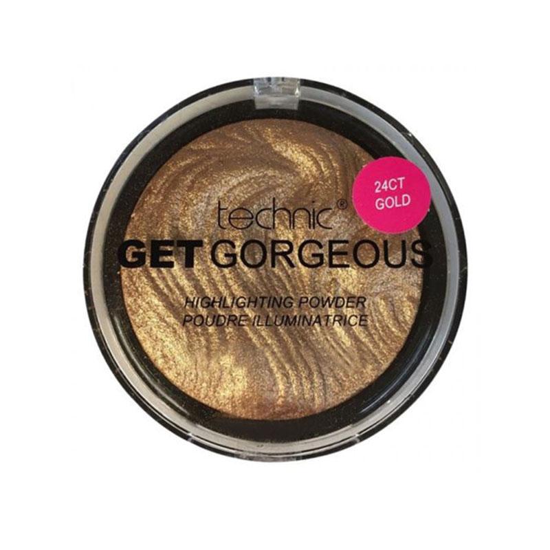 Technic Get Gorgeous 24Ct Gold Highlighting Powder