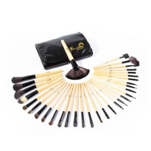 London Pride Real Bamboo Make Up Brush Set 32pcs
