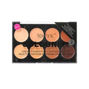Technic Colour Fix Cream Foundation Contour Palette 2
