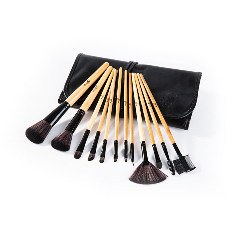 London Pride Bamboo Brush Set 12 pcs