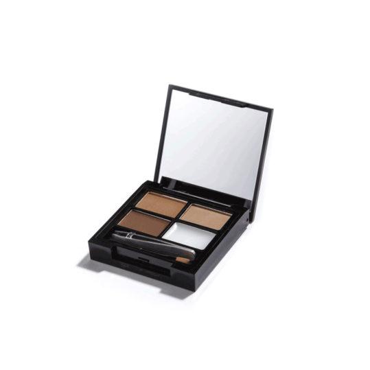 Makeup Revolution Focus & Fix Brow Kit Medium Dark