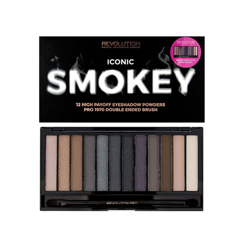 Makeup Revolution Iconic Smokey Eyeshadow Palette