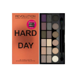 Makeup Revolution Hard Day Eyeshadow Palette