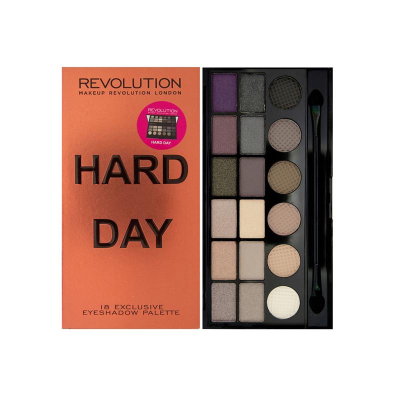 Makeup Revolution Hard Day Eyeshadow Palette
