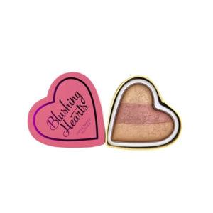 I Heart Makeup Blushing Hearts Peachy Keen Heart Blusher 10g