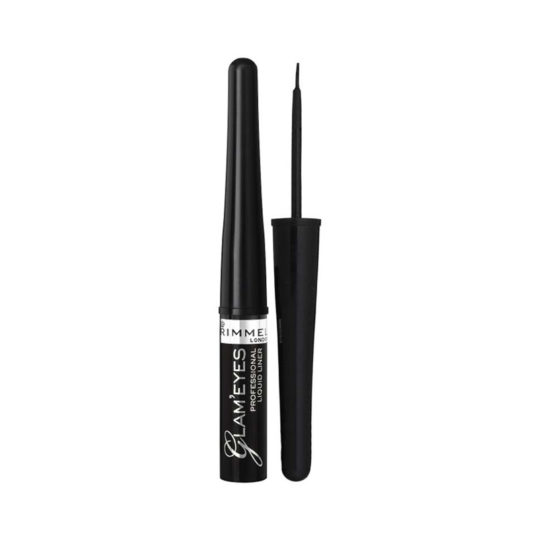 Rimmel London Glam Eyes Liquid Liner 001 Black Glamour 3,5ml