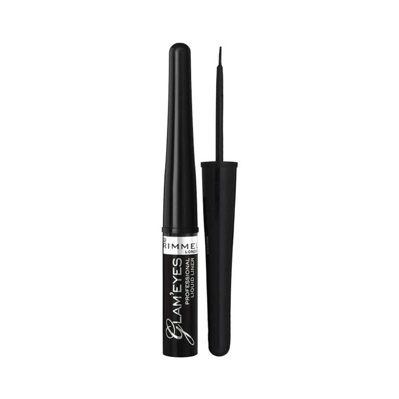 Rimmel London Glam Eyes Liquid Liner 001 Black Glamour 3,5ml