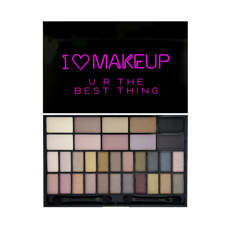 I Heart Makeup Theme Palette U R The Best Thing