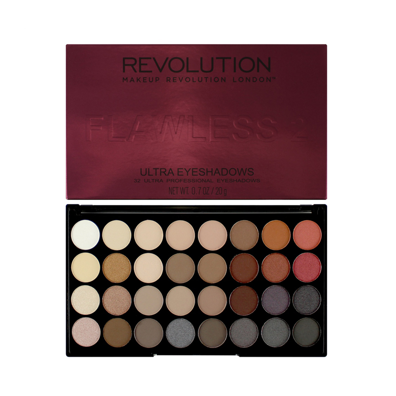 Makeup Revolution Flawless 2 Ultra 32 Shade Eyeshadow Palette