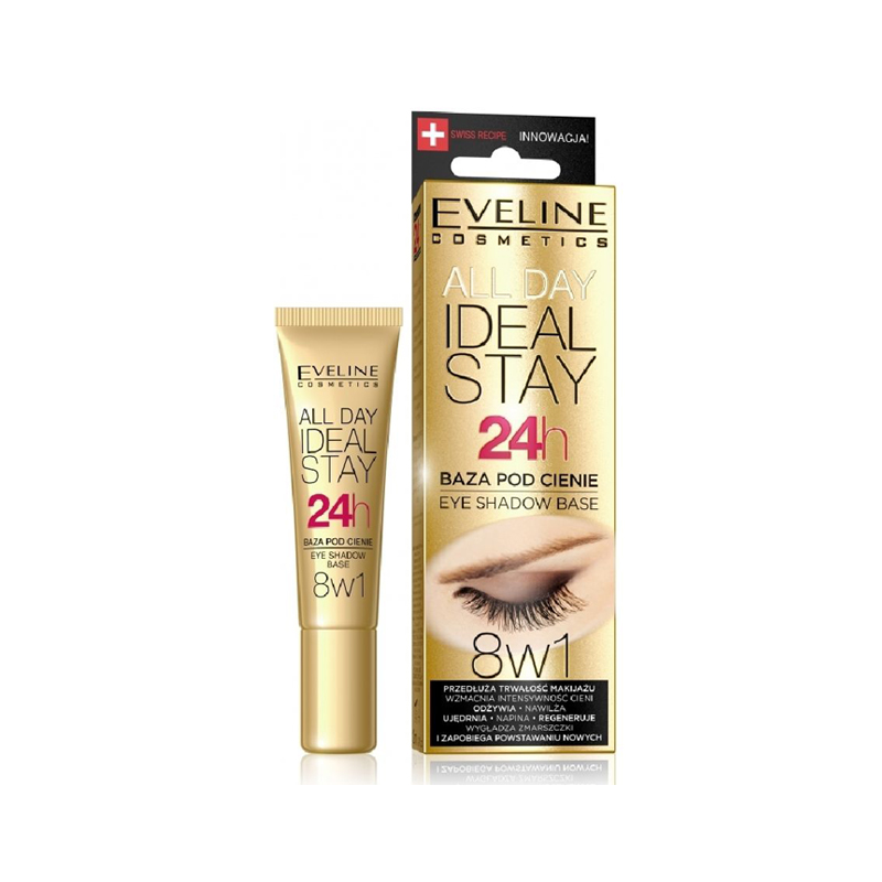 Eveline 8in1 Eye Shadow Base All Day Eye Primer