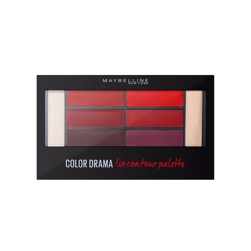 Maybelline Color Drama Lip Contour Palette Crimson 01 Vixen 4gr
