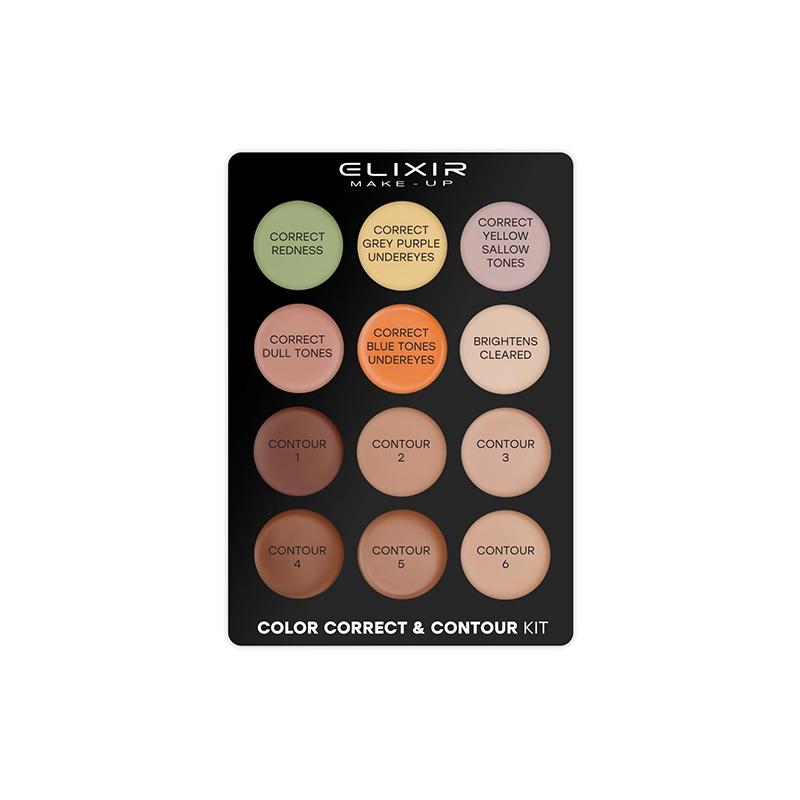 Elixir Color Correct & Contour Kit