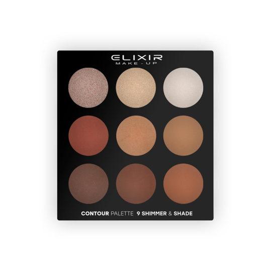 Elixir Contour Palette 9 Shimmer & Shade