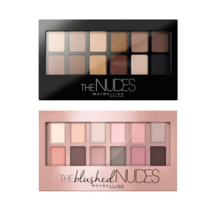Maybelline The Nudes Eyeshadow Palletes Set