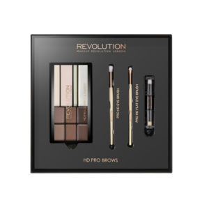 Makeup Revolution HD Pro Brows Gift Set