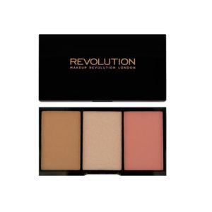 Makeup Revolution Iconic Pro Blush Bronze and Brighten Flush