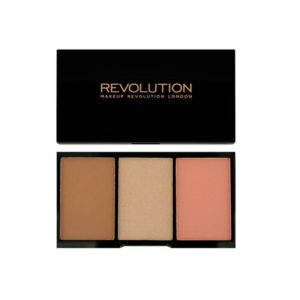 Makeup Revolution Iconic Pro Blush Bronze and Brighten Golden Hot