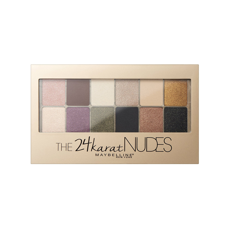 Maybelline The 24 Karat Nudes Eyeshadow Palette 9.6gr