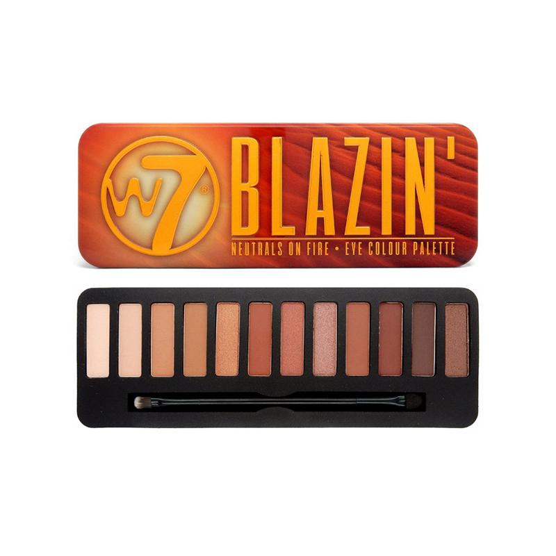 W7 Blazin Eyeshadow Palette