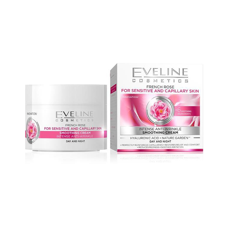 Eveline Nature Line French Rose Anti Wrinkle 50ml