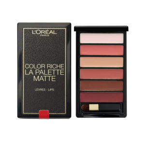 L'oreal Lip Palette Matte Nude Color Riche 6g