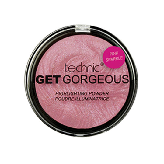 Technic Get Gorgeous Pink Sparkle Highlighting Powder 12gr
