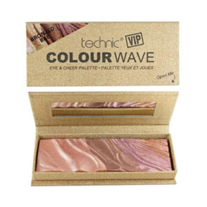 Technic VIP Colour Wave Eye & Cheek Palette Bronzed Bae