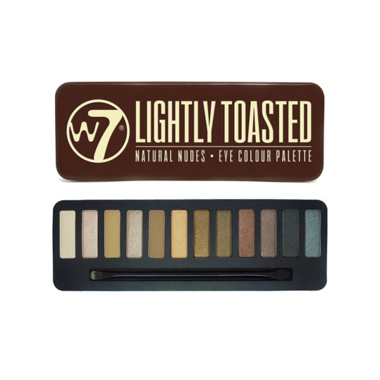 W7 Lightly Toasted Eyeshadow Palette