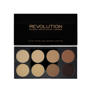 Makeup Revolution Ultra Cover and Conceal Palette Medium Dark