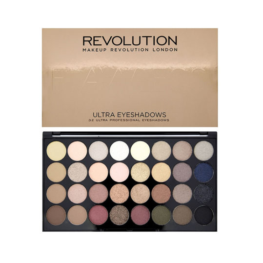 Makeup Revolution Flawless Ultra 32 Shade Eyeshadow Palette