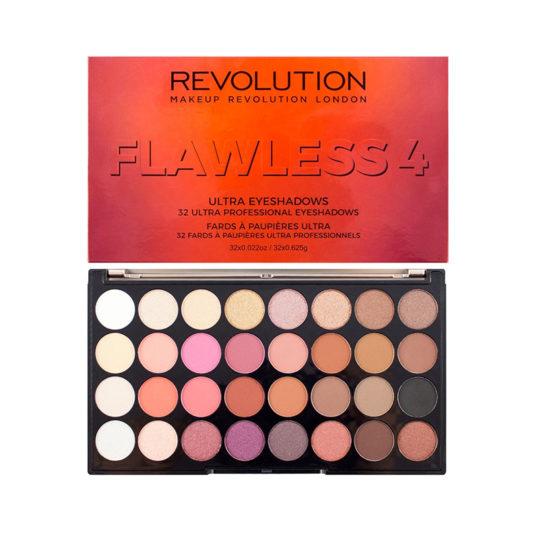 Makeup Revolution Flawless 4 Ultra 32 Eyeshadow Palette