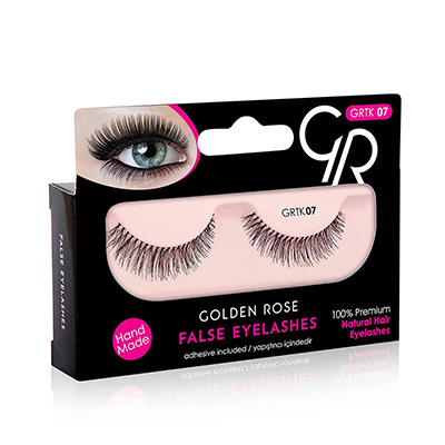 Golden Rose False Eyelashes 07
