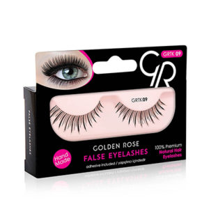 Golden Rose False Eyelashes 09