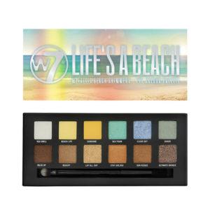 W7 Life's A Beach Eyeshadow Palette