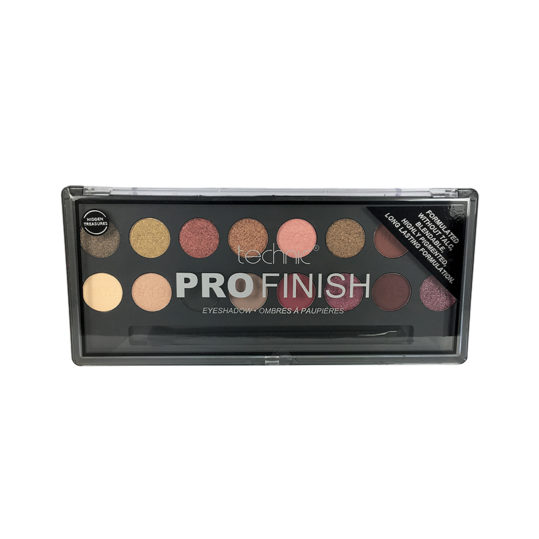 Technic Pro Finish Hidden Treasures Eyeshadow Palette