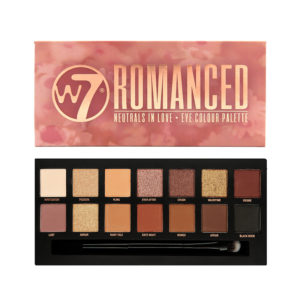 W7 Romanced Eye Colour Palette