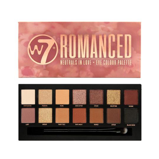 W7 Romanced Eye Colour Palette