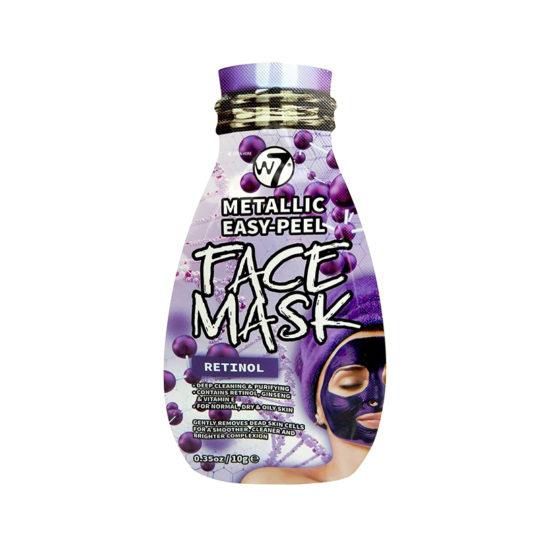 W7 Metallic Easy Peel Retinol Face Mask 10gr