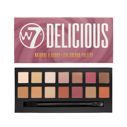 W7 Delicious Natural and Berry Eye Colour Palette