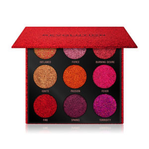 Revolution Pressed Glitter Palette Hot Pursuit