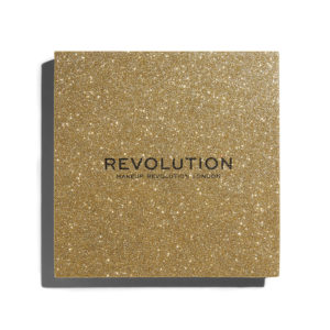 Makeup Revolution Pressed Glitter Palette Midas Touch